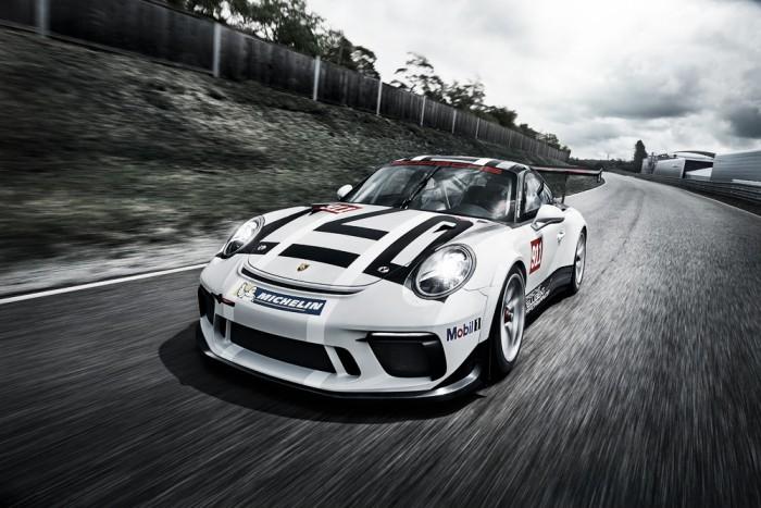 Porsche apresenta 911 GT3 Cup 2017