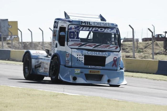 Pilotos precisam fazer descarte de pontos pela Fórmula Truck para Guaporé