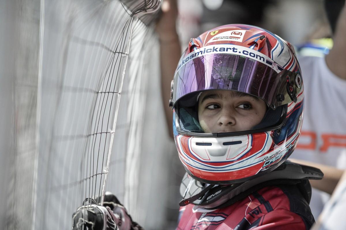 Estreando no Europeu de Kart, Rafael Câmara chega à final e está entre os 25 melhores após 1ª etapa