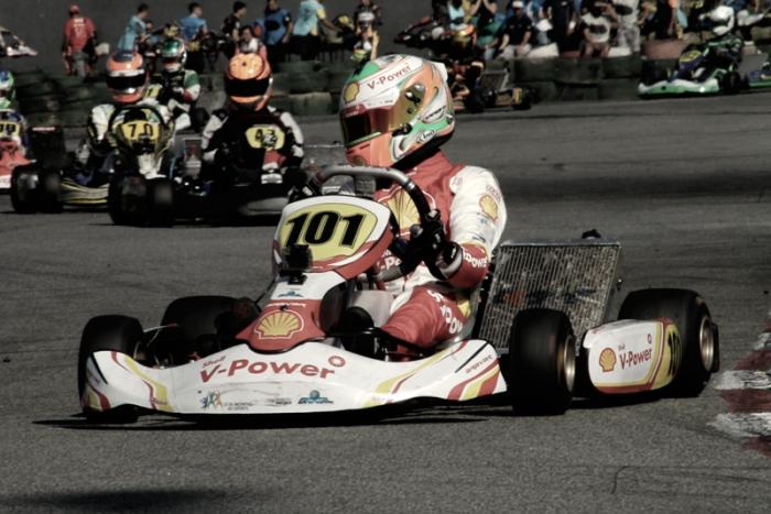 Gianluca Petecof disputa Brasileiro de Kart em Santa Catarina