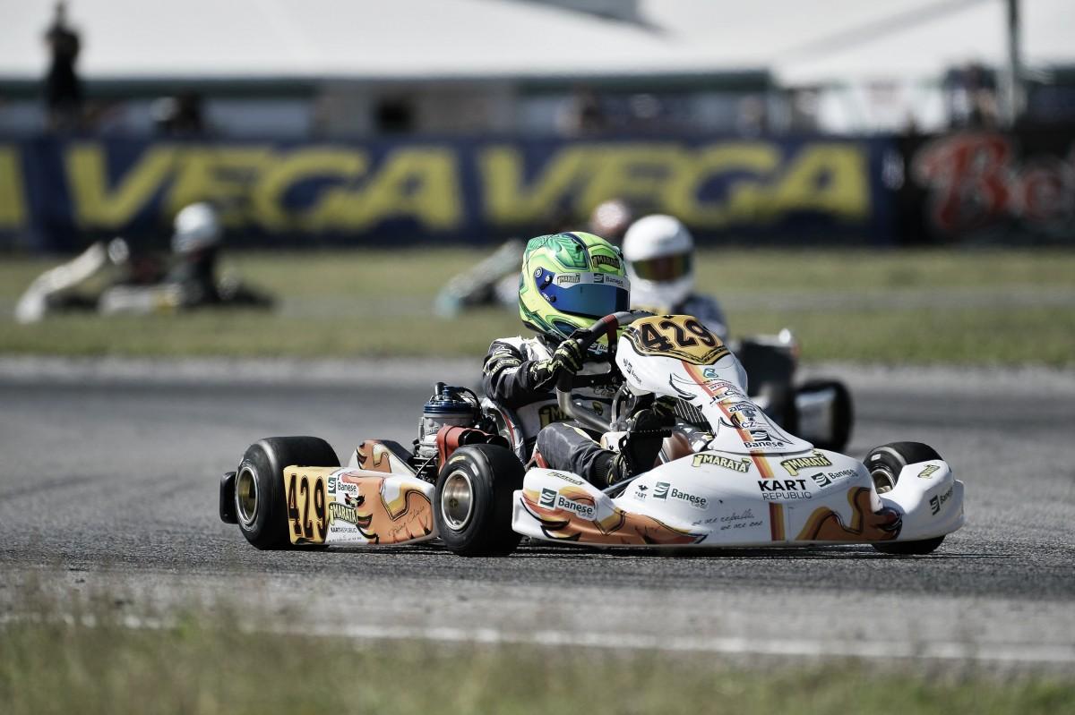 Gui Figueiredo estreia no Campeonato Europeu de Kart neste final de semana, na Itália