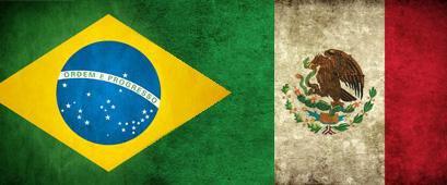 Brasil-México, así lo vivimos