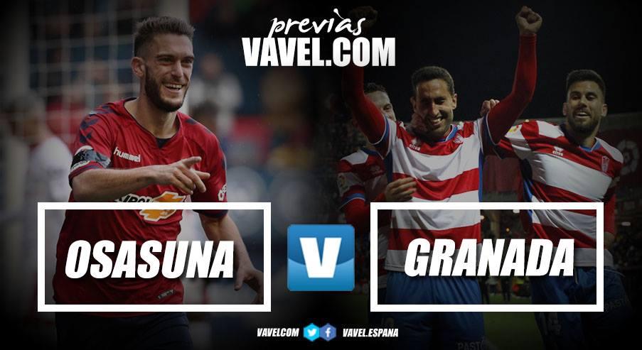 Previa CA Osasuna - Granada CF: duelo clave por el ascenso
