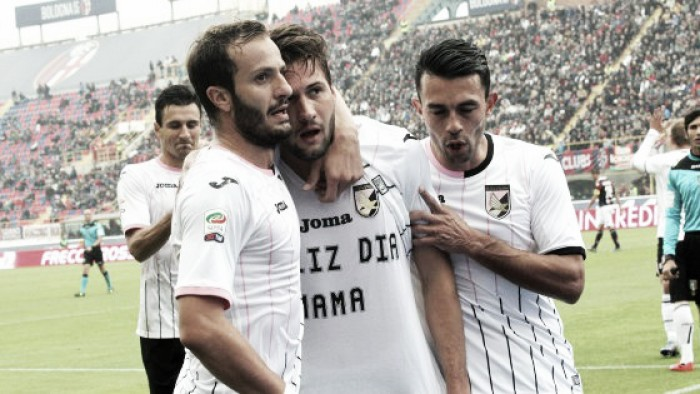 Palermo - Bologna in Serie A 2015/16 (0-0)