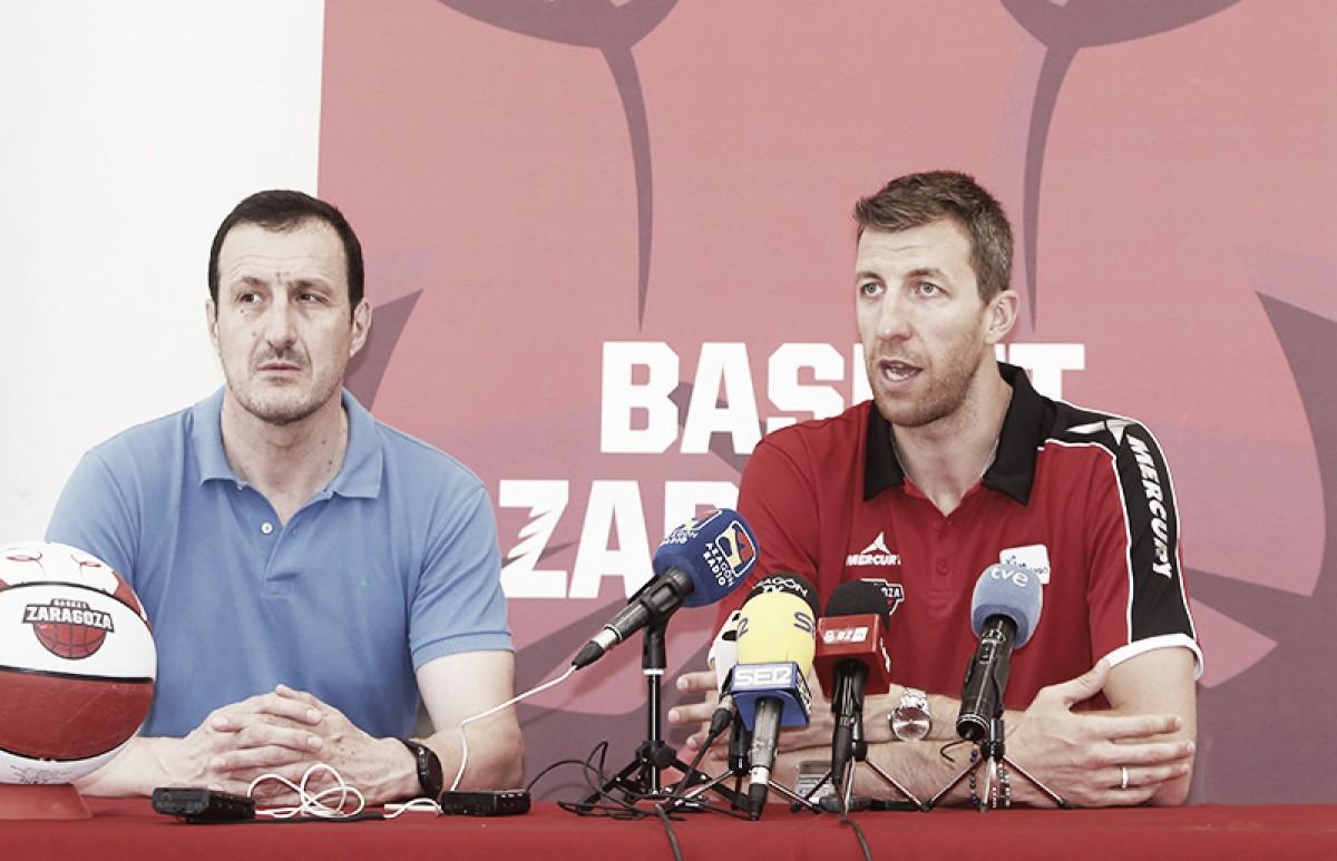 Basket Zaragoza suma y sigue: llegan Seibutis y Vázquez