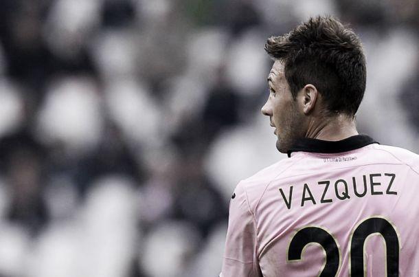"""Palermo, Iachini incorona Vazquez: """"Mi aspetto personalità, prenderà la squadra in mano"""""""