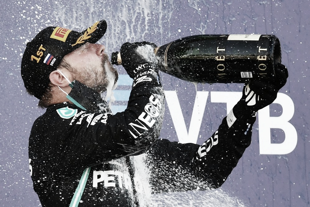 Bottas ayuda a Schumacher a mantener su record de victorias