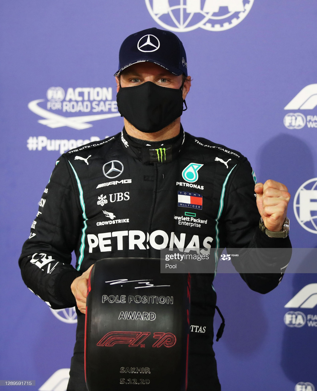 Sakhir GP - Russell doesn't beat Bottas for first place in his first Q3