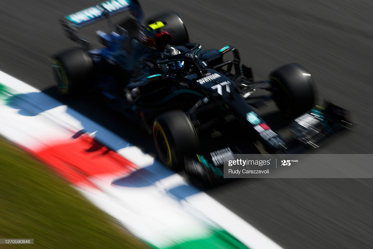 Engine mode ban bares no problems with Mercedes 1-2 in FP1 at Monza