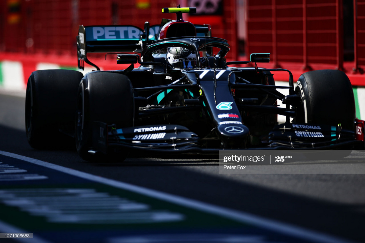 Valtteri Bottas continues impeccable FP1 form at Tuscan GP