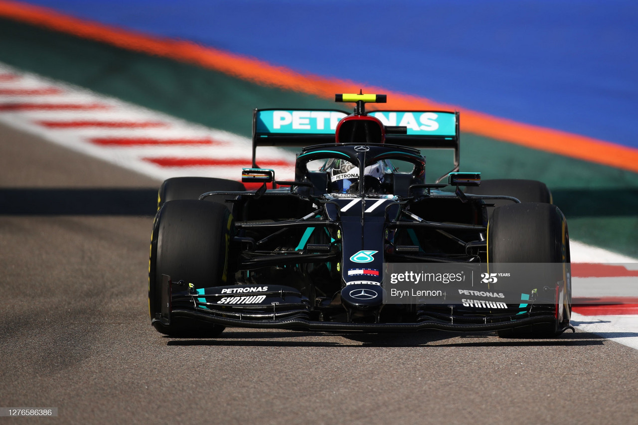 Valtteri Bottas tops fifth consecutive FP1 session - Russian GP