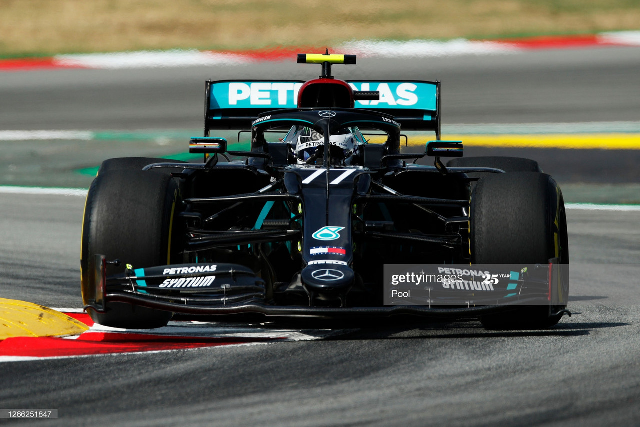 Mercedes in a world of their own in Spanish GP FP1
