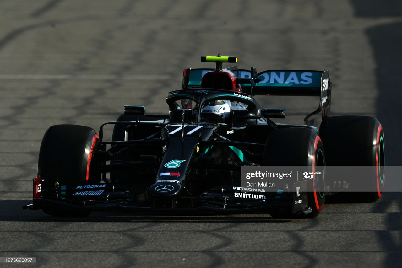 Bottas on top only constant in reshuffled FP2 - Russian GP