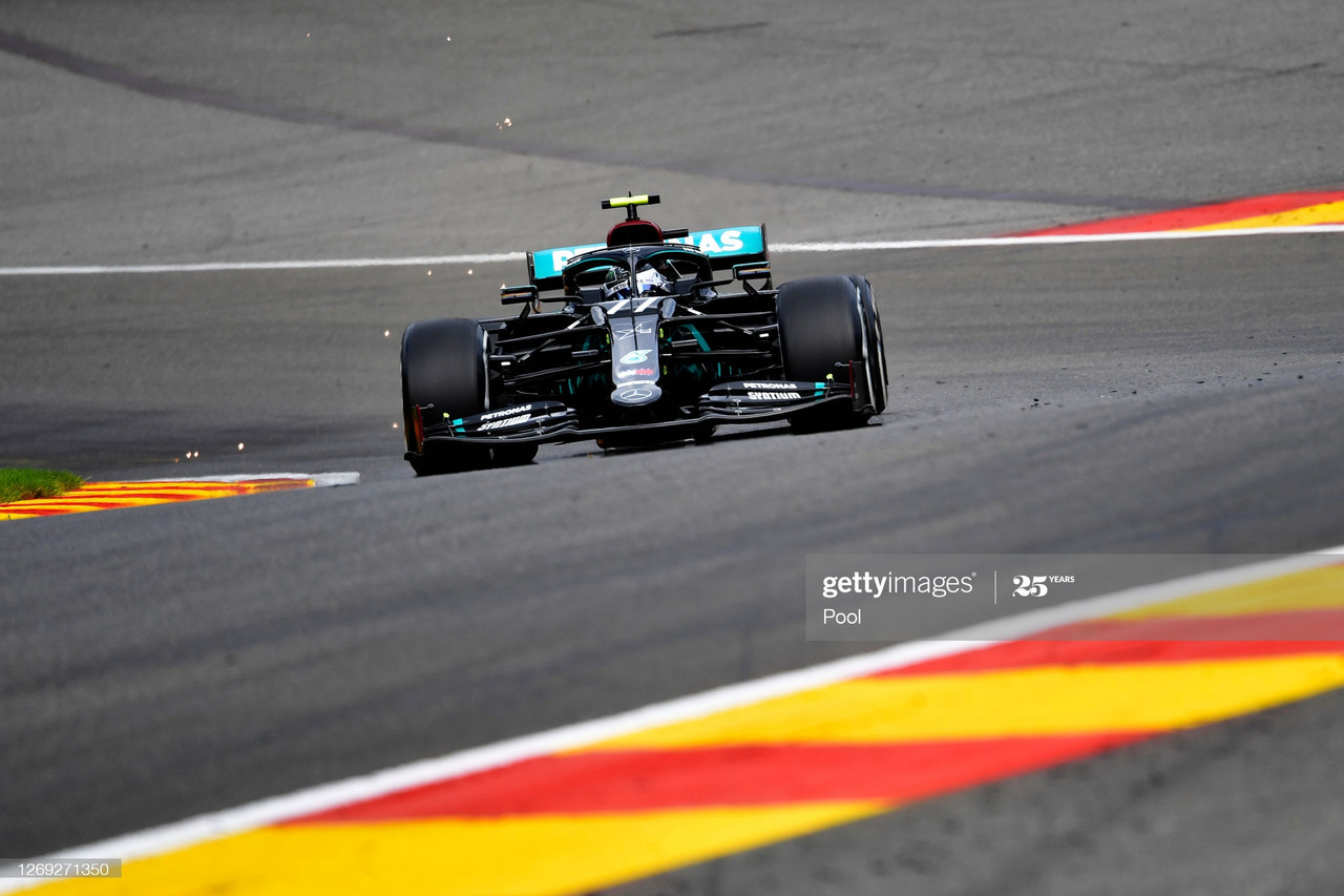 Ferrari engine woes as Bottas tops FP1 in Spa