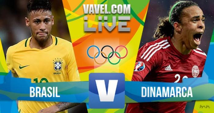 Resultado Brasil x Dinamarca nos Jogos Olímpicos Rio 2016 (4-0)