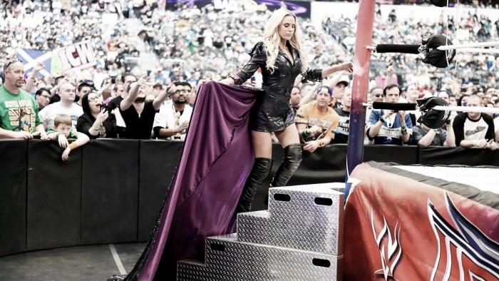 Lana prueba en NXT