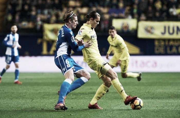 Villarreal sofre gol nos minutos finais e empata com La Corunã em casa