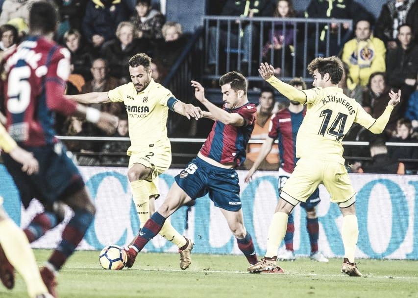 Resumen Villarreal CF vs Levante UD en LaLiga Santander 2018 (1-1)