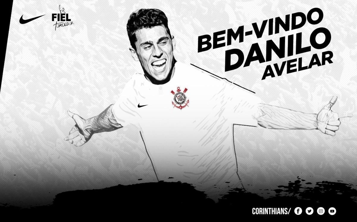 Corinthians anuncia Danilo Avelar para reforçar a defesa no restante da temporada