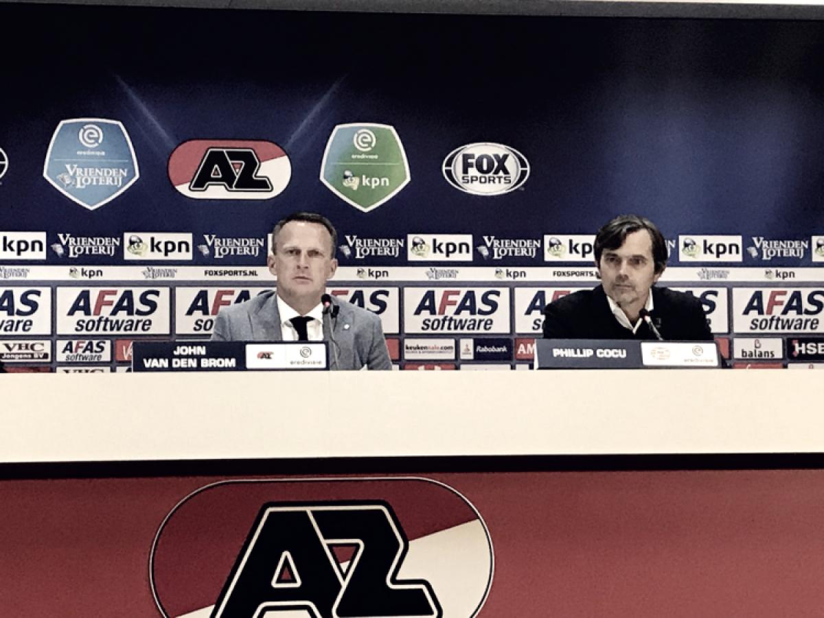 """Van den Brom: """"Después del 2-0, muchas cosas salieron mal"""""""