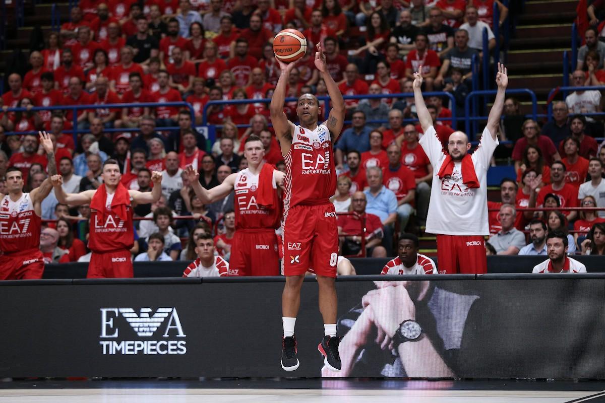 Legabasket Serie A - Goudelock e Jerrells letali in attaco, Milano vince anche gara 2 (90-80)