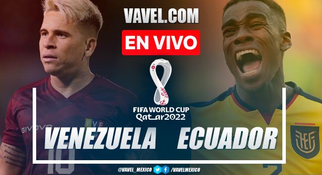 Resumen y goles: Venezuela 2-1 Ecuador en Eliminatorias de Conmebol para Catar 2022