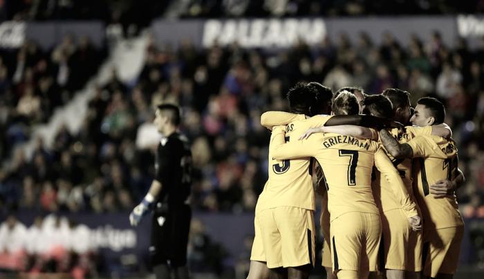Griezmann, Gameiro y Correa son los hombres, con 'G' de gol