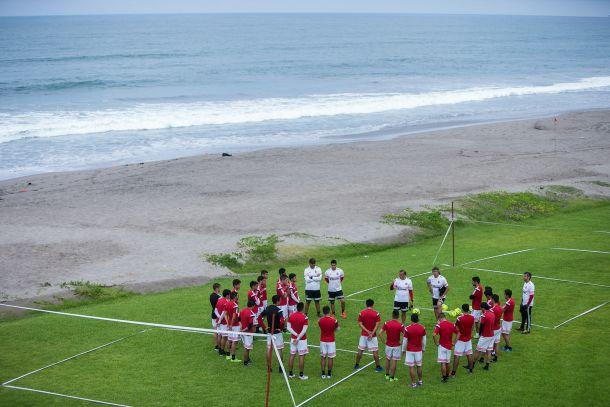 Xolos trabaja a doble y triple sesión en Mazatlán