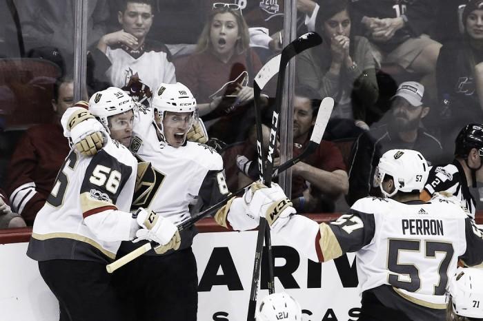 Sueños de oro para Vegas Golden Knights