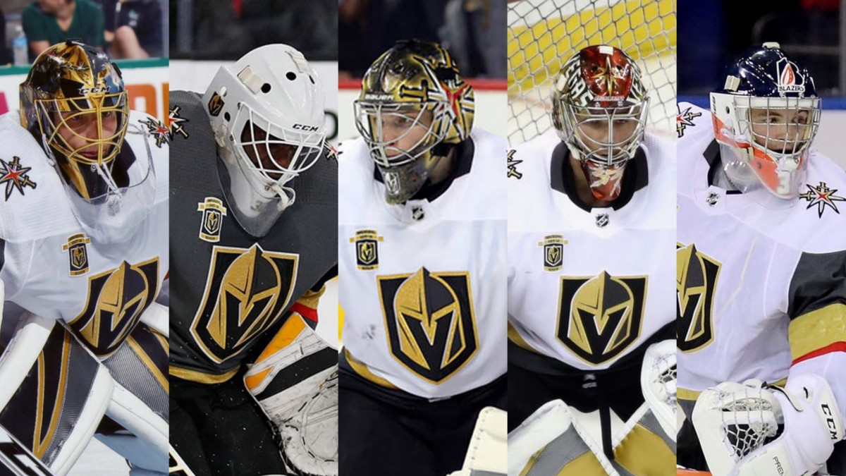Deep dive into the Vegas Golden Knights goaltenders