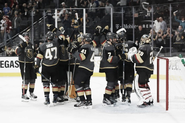 Golden Knights enter the record books again after overtime win