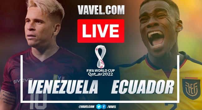 Goals and highlights: Venezuela 2-1 Ecuador in Qatar 2022 World Cup Qualifiers