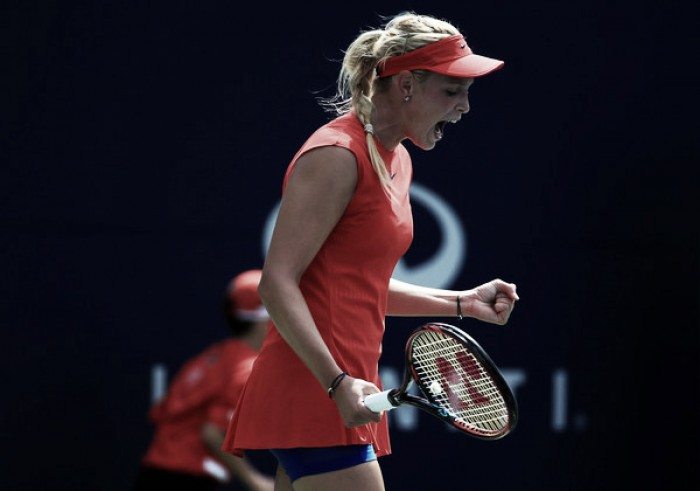 Bouchard bounced from Rogers Cup in first round