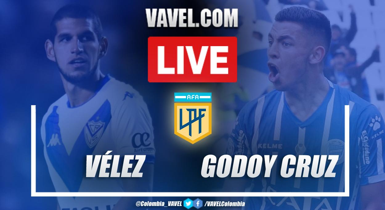 Resumen Vélez vs Godoy Cruz por la zona complementación (3-2)