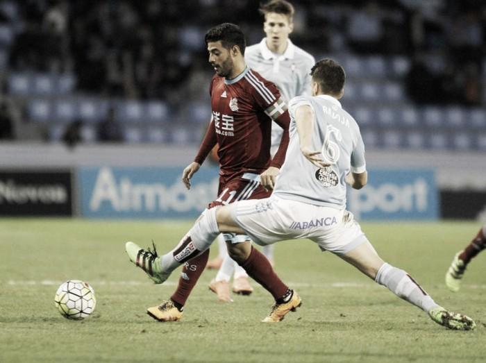Con Diego Reyes y Carlos Vela, la Real Sociedad cae ante Celta de Vigo