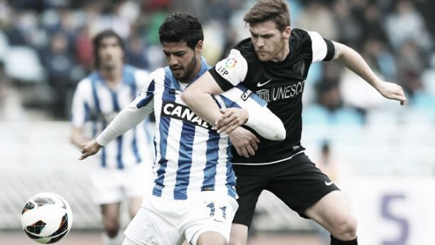 Real Sociedad - Málaga: vistas a Europa desde Anoeta