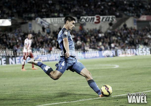 Velázquez, primer defensa del Getafe en marcar en esta liga