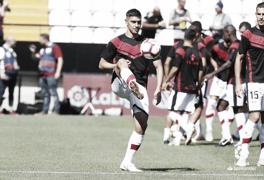 La selección de Uruguay agradecida al Rayo Vallecano