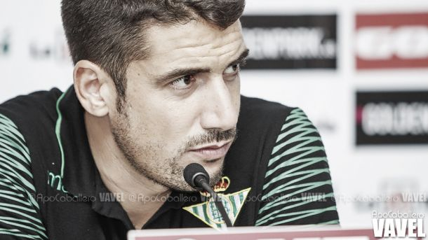 """Velázquez: """"Tengo muchas ganas de que el equipo esté al nivel que se presupone de él"""""""