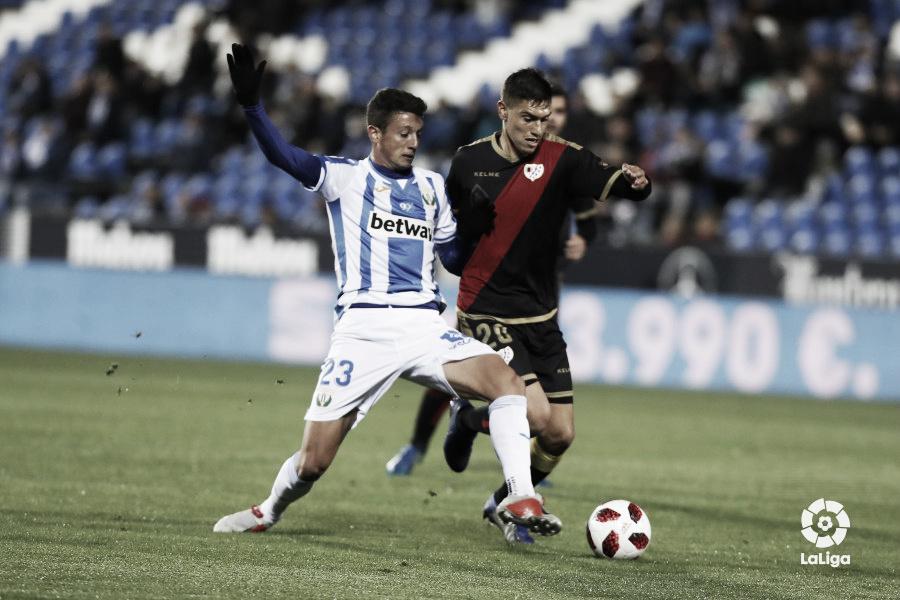 Rayo Vallecano - Leganés, a las 20:30 horas, vuelta de los dieciseisavos de final de Copa del Rey