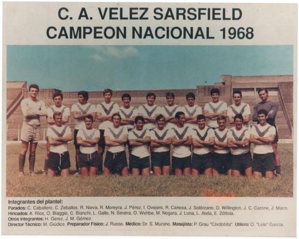 Retorno a 1968, Primer Campeonato de Vélez Sarsfield