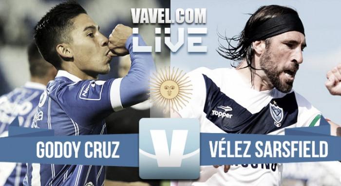Godoy Cruz aplastó a Vélez en Mendoza