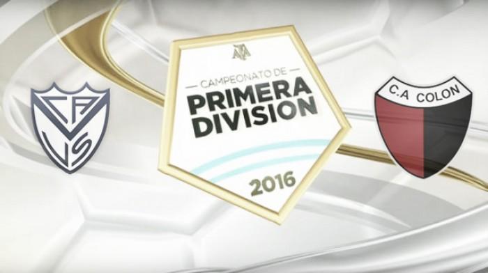 Resumen Vélez 2-0 Colón en Torneo de Transición 2016