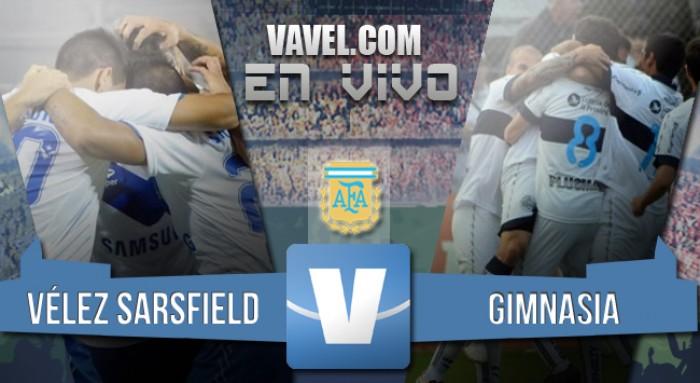Resultad Vélez Sarsfield 2-1 Gimnasia y Esgrima: el Fortín lo ganó sobre el final