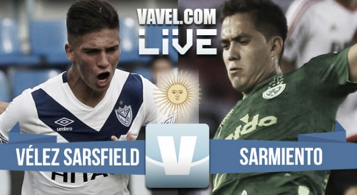 Partido Vélez Sarsfield 5-1 Sarmiento en Liga Argentina 2017