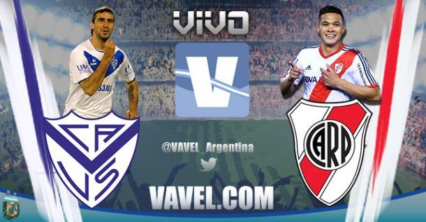 Resultado Vélez Sarsfield - River Plate 2014 (1-1)