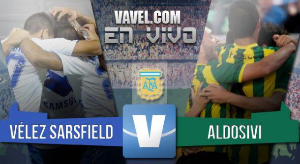 Resultado Vélez Sarsfield - Aldosivi 2015 (1-0)