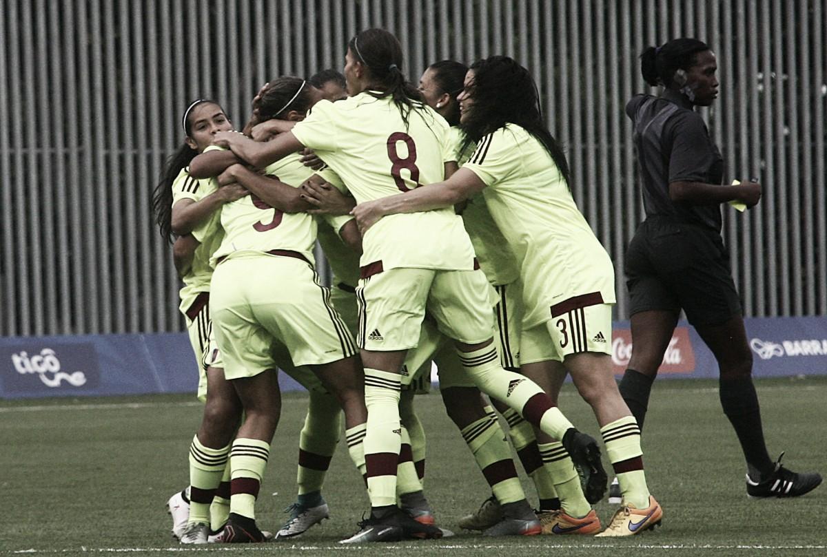 Resumen Venezuela 1-3 México fútbol femenino Juegos Centroamericanos y del Caribe 2018