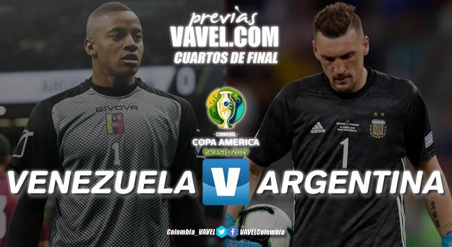 Previa Venezuela vs Argentina: enfrentamiento para conocer el rival de Brasil