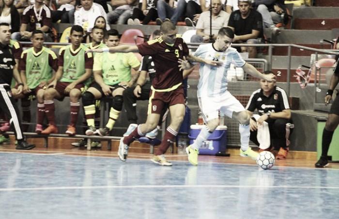 Venezuela no pudo ante los locales en la Copa América de Futsal